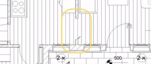 שימוש בספליט למחיקת קטע קיר
