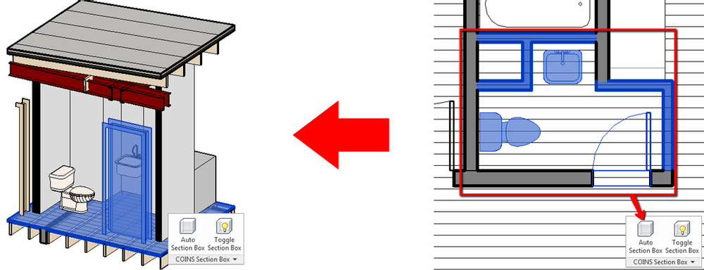 COINS Auto-Section Box